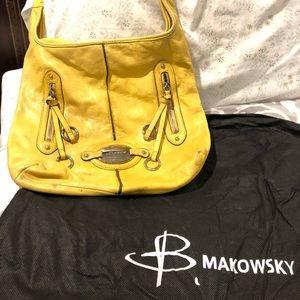 B.Makowsky Mustard Berlin Wash Hobo